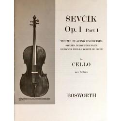 Sevcik for Cello Opus 1 Part 1