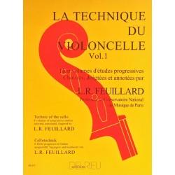 Louis-Raymond Feuillard, La technique du violoncelle Volume 1