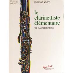 Jean-Noël Crocq, Le clarinettiste élémentaire