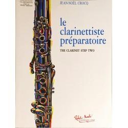 Jean-Noël Crocq, Le clarinettiste préparatoire