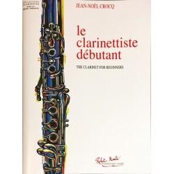 Jean-Noël Crocq, Le clarinettiste débutant
