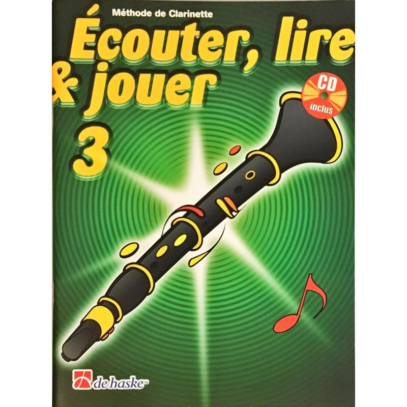 Joop Boerstoel - Jean Castelain, Ecouter, lire & jouer Volume 3