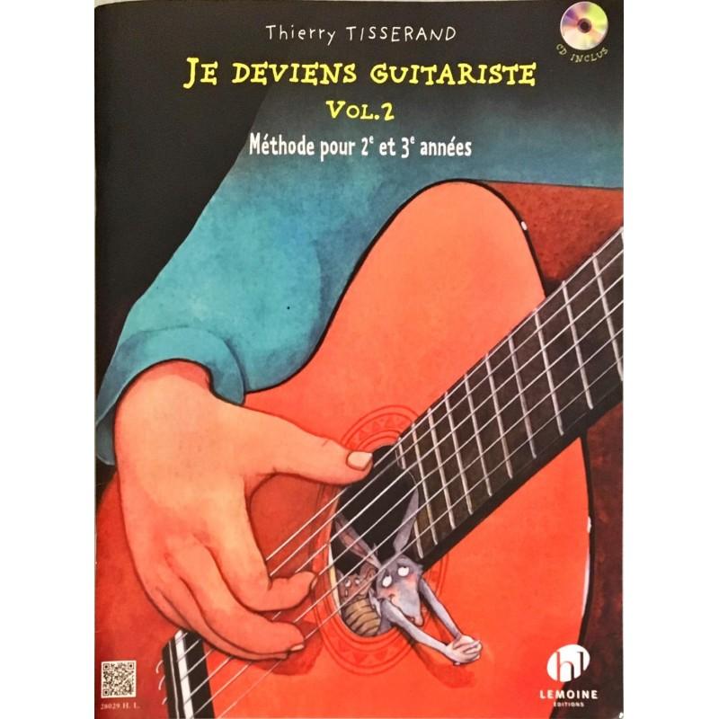 Thierry Tisserand, Je deviens guitariste Volume 2