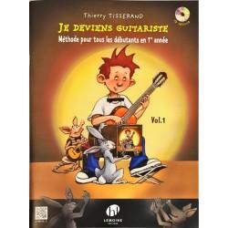 Thierry Tisserand, Je deviens guitariste Volume 1