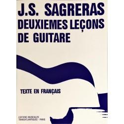 J.S Sagreras, Deuxièmes leçons de guitare