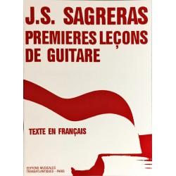 J.S Sagreras, Premières leçons de guitare