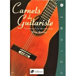 Yvon Rivoal, Carnets du guitariste Volume 3