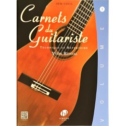 Yvon Rivoal, Carnets du guitariste Volume 1