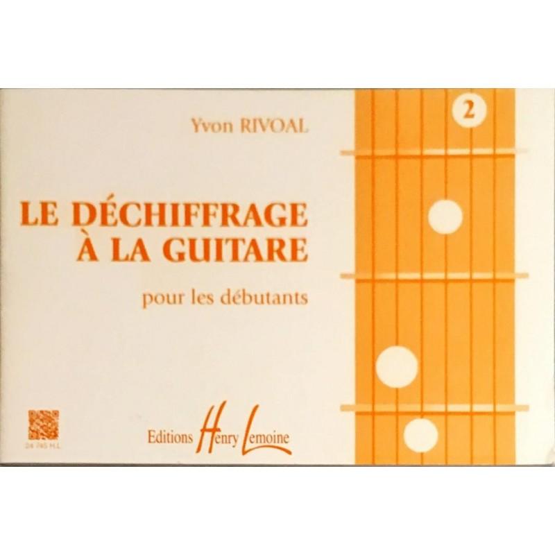 Yvon Rivoal, Le déchiffrage à la guitare Volume 2
