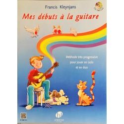 Francis Kleynjans, Mes débuts à la guitare