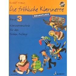 Rudolf Mauz, Die fröhliche klarinette Volume 3 + CD