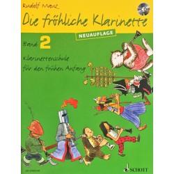 Rudolf Mauz, Die fröhliche klarinette Volume 2 + CD
