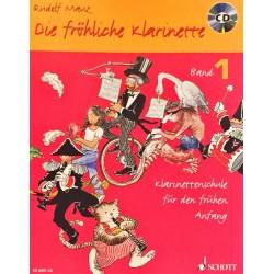 Rudolf Mauz, Die fröhliche klarinette Volume 1 + CD