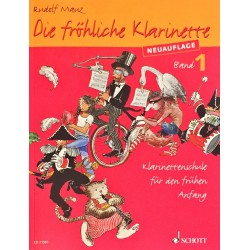 Rudolf Mauz, Die fröhliche klarinette Volume 1