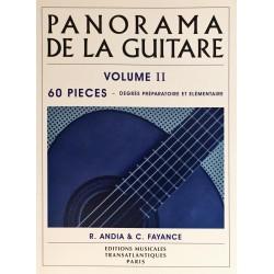 R. Andia - C. Fayance, Panorama de la guitare Volume 2