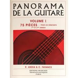 R. Andia - C. Fayance, Panorama de la guitare Volume 1