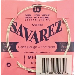 Cordes Savarez Carte Rouge