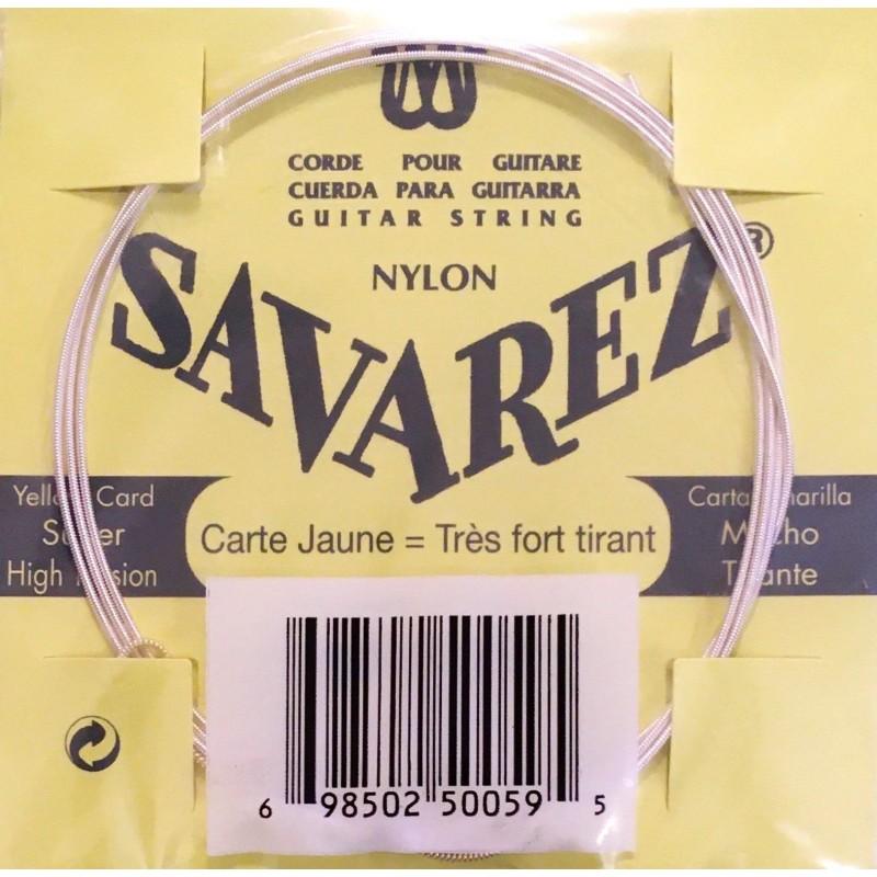 Cordes Savarez Carte Jaune