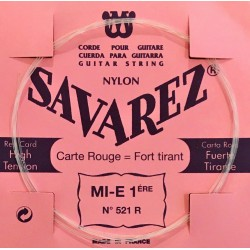 Corde Mi1 Savarez Carte Rouge