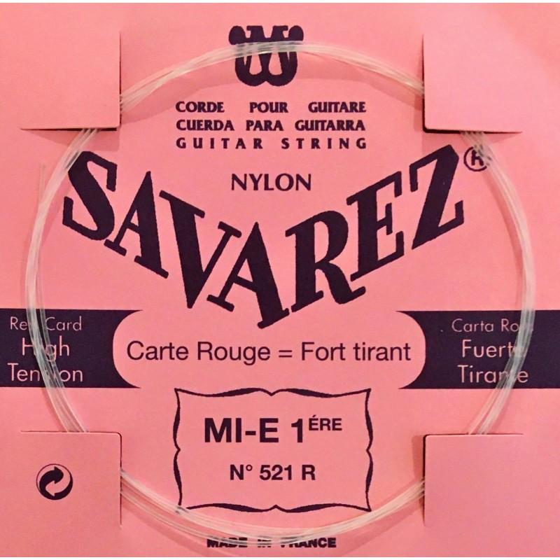 Corde Mi1 Savarez Carte Rouge