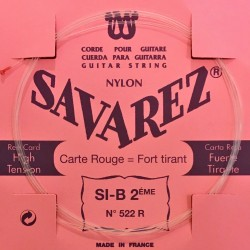 corde si2 savarez carte rouge
