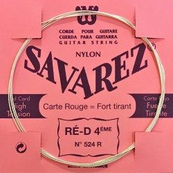 Corde Ré4 Savarez Carte Rouge
