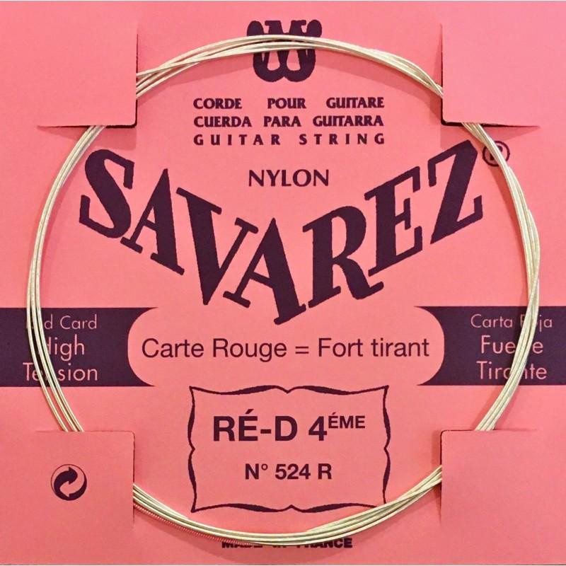 Corde Ré4 Savarez Carte Rouge