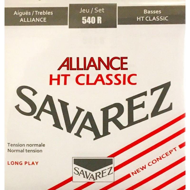 Jeu de cordes Savarez Alliance HT Classic Rouge