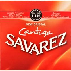 Jeu de cordes Savarez Cantiga New Cristal Rouge