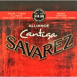 Jeu de cordes Savarez Cantiga Alliance Rouge