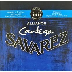 Jeu de cordes Savarez Cantiga Alliance Bleu