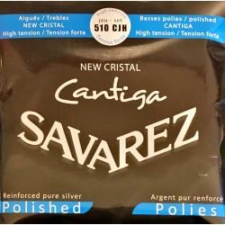 Jeu de cordes Savarez Cantiga New Cristal Bleu