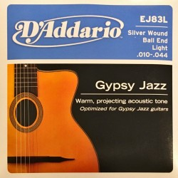 Jeu de cordes D'Addario Gypsy Jazz