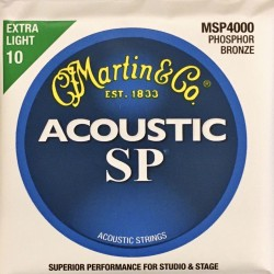 Jeu de cordes Martin Acoustic SP Extra Light