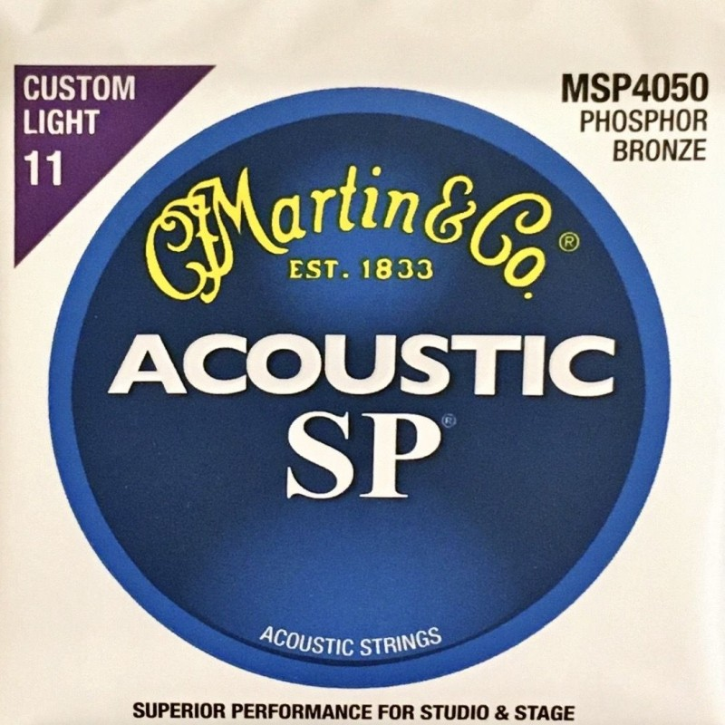 Jeu de cordes Martin Acoustic SP Custom Light