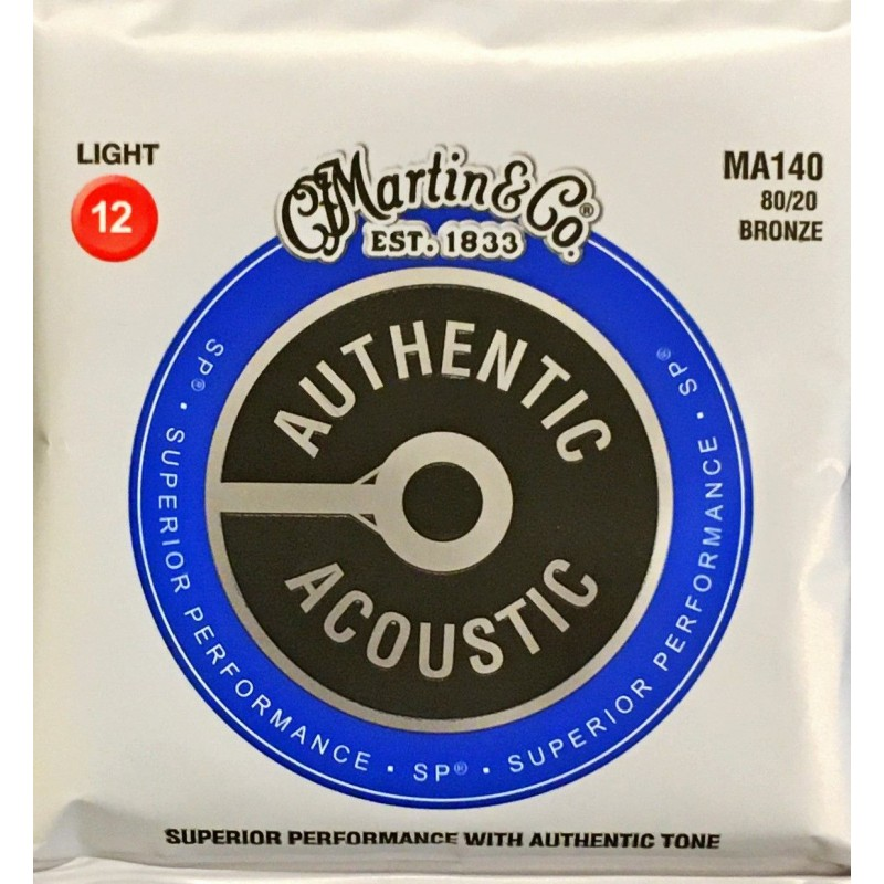 Jeu de cordes Martin Authentic Acoustic Light
