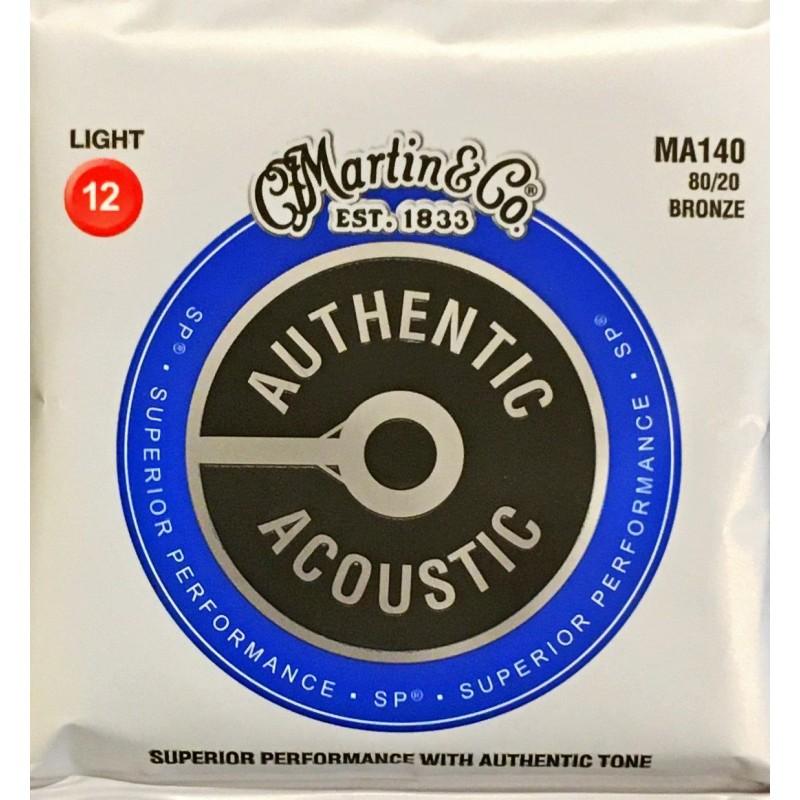 Jeu de cordes Martin Authentic Acoustic Light