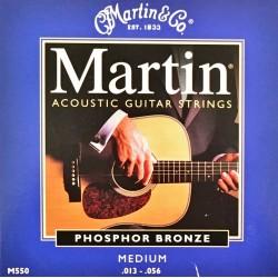 Jeu de cordes Martin Phosphor Broze Medium