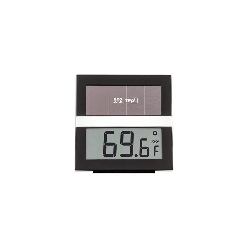 Thermo-hygromètre digital ''ECO Solar''