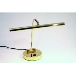 Lampe halogène pour piano droit, laiton